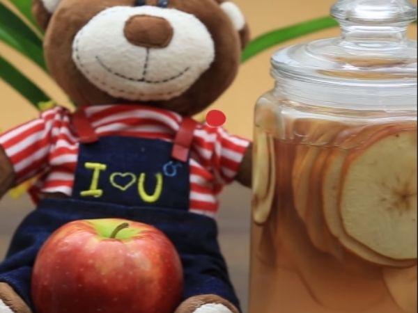 lợi ích của giấm táo