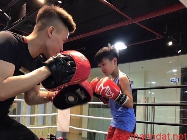 boxing cho trẻ em