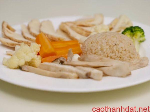 chế độ ăn healthy